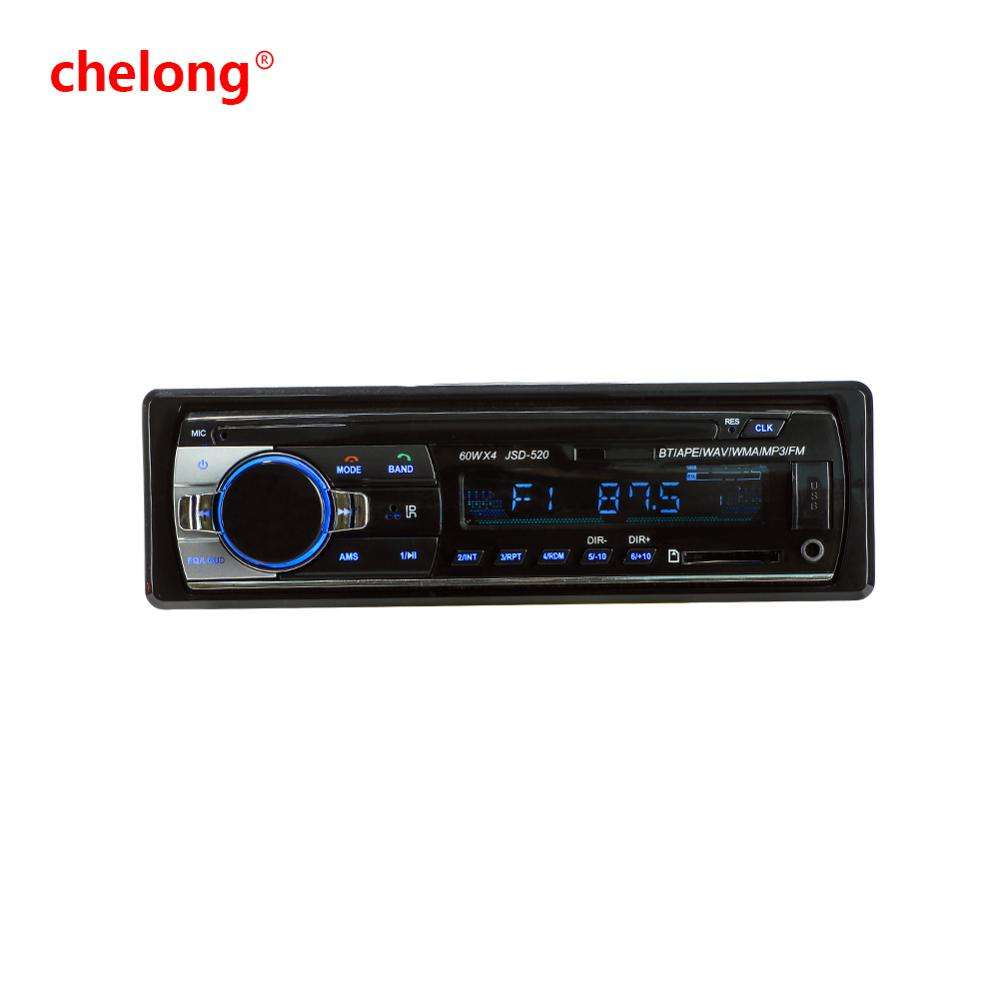 Cl-520BT Car MP3 Player Car Audio Stereo 1DIN Big Power with FM Radio Bluetooth