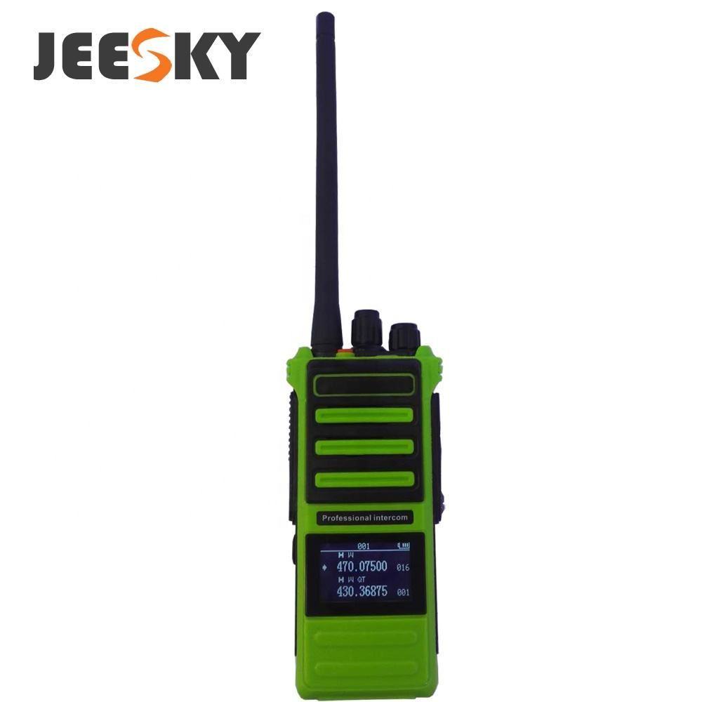 10km D90 High Power 10Watt Radio <span class=keywords><strong>UHF</strong></span>/VHF Scrambler Walkie Talkie