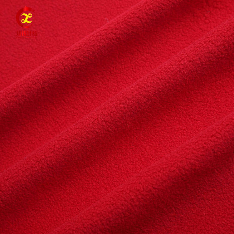도매 사 오싱의 100% polyester micro polar fleece fabric 롤