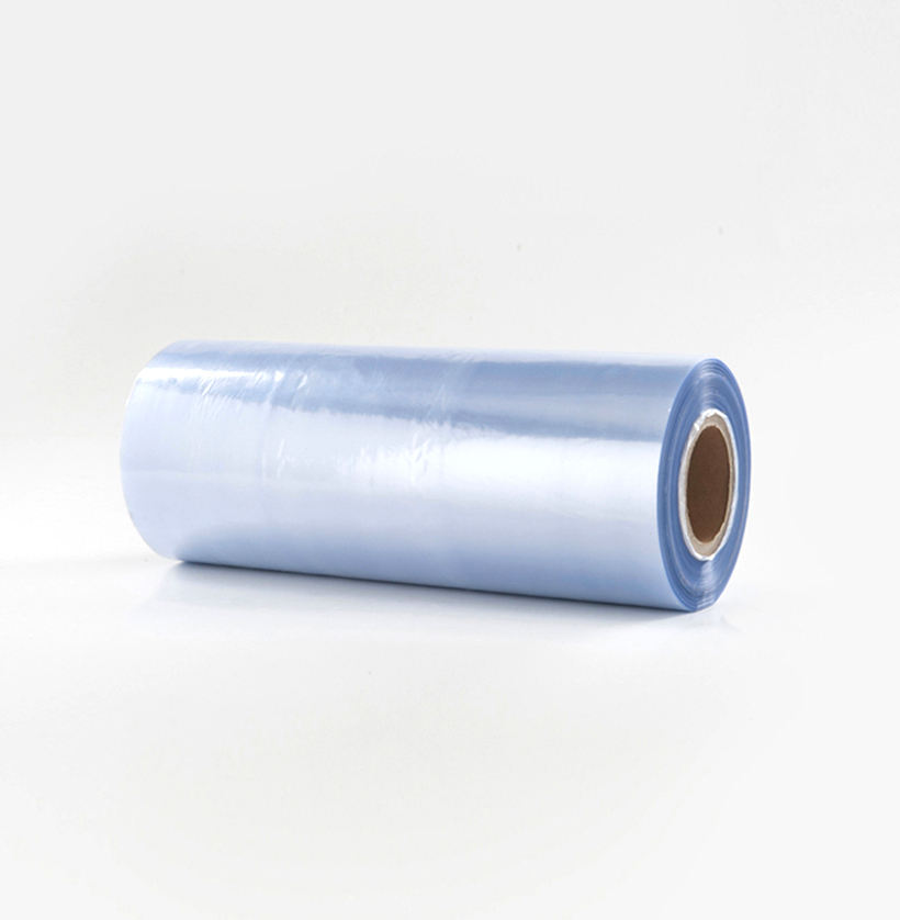 New coming colorless pvc wrapping roll clear plastic shrink wrap stretch film