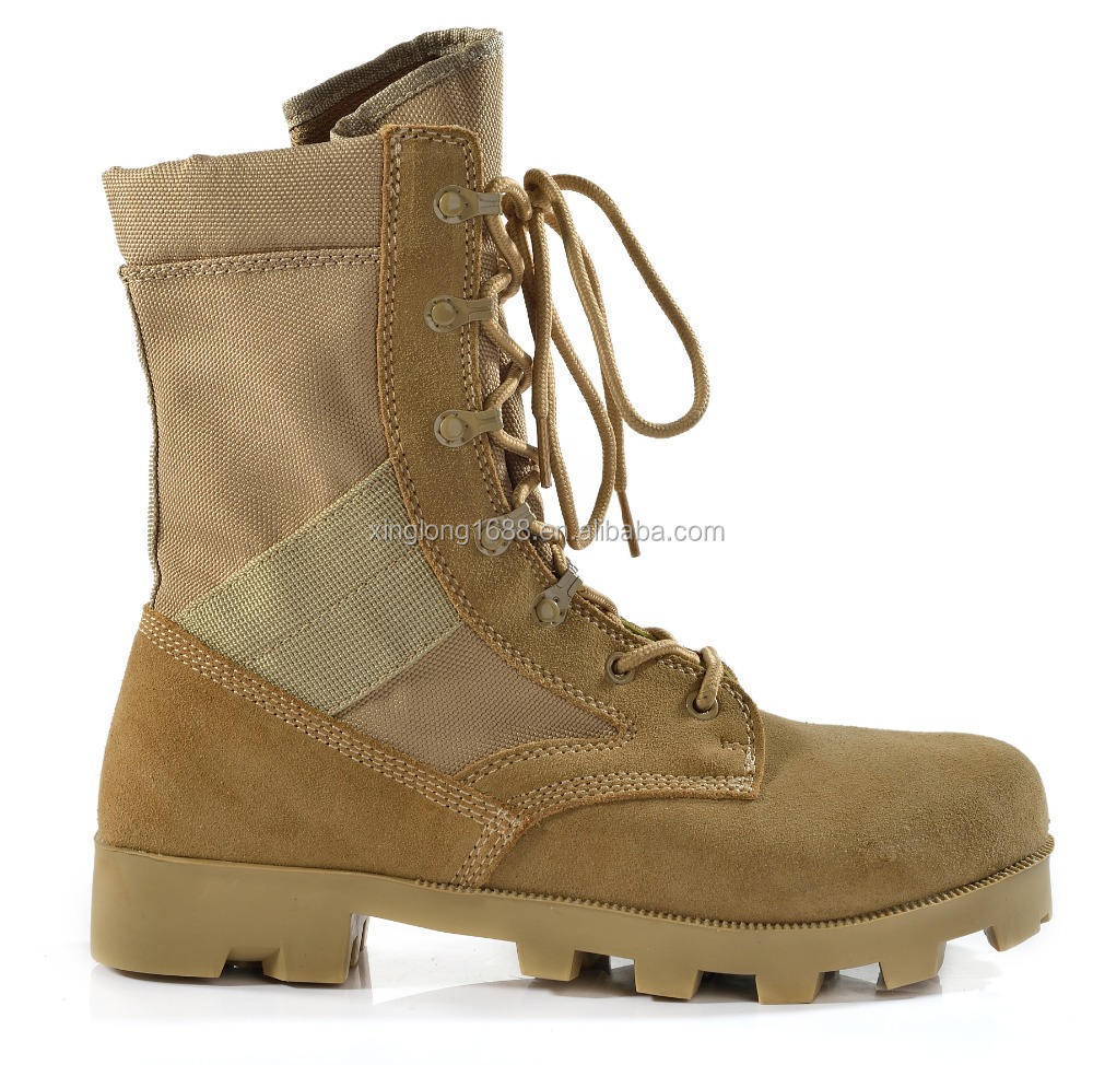 Factory Direct Sale Classic sUper light and Strong Military Army Desert Boots