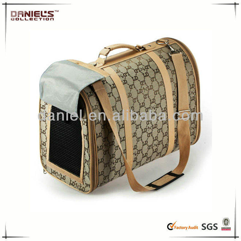 Leather Pet Carrier Pet Leather Backpack Luggage/