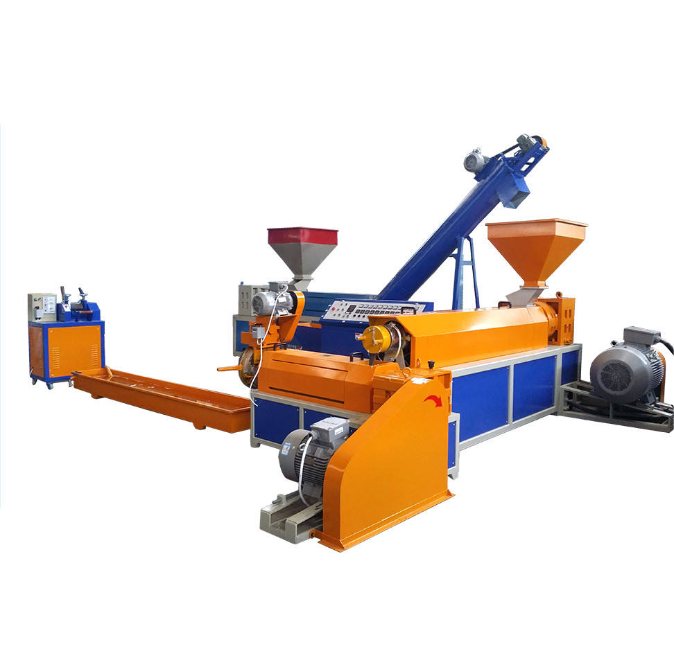 Union Kleine Poeder Pellet Granulator Pet Plastic Pelletiseren Extrusie Machine