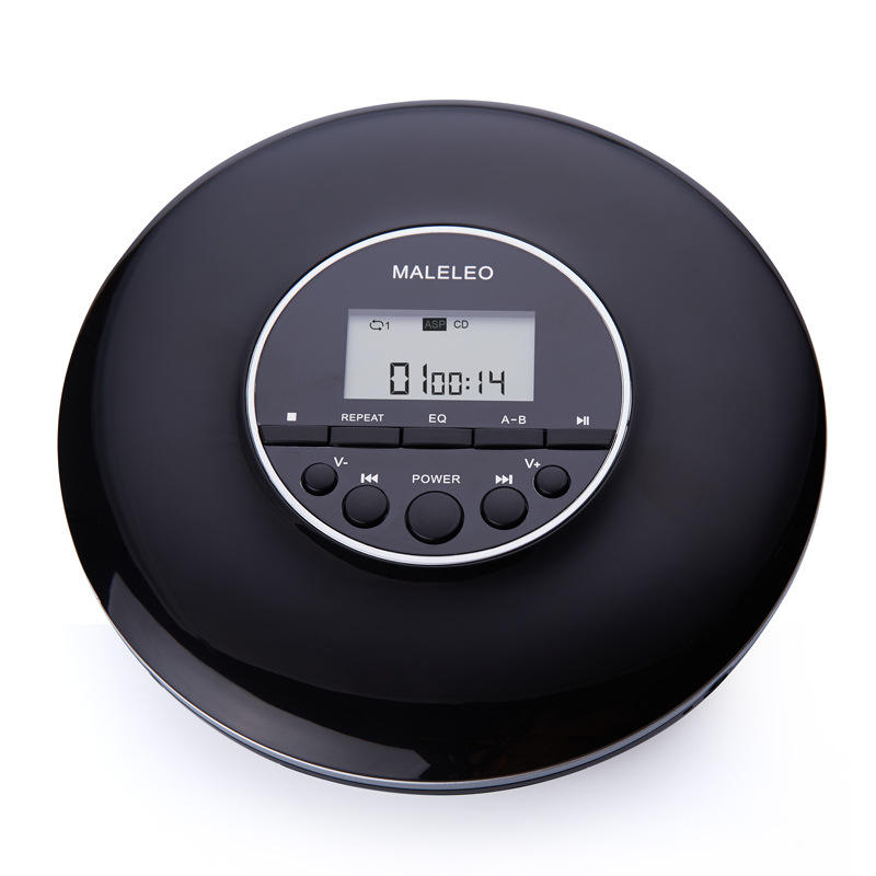 3.5MM Portable CD PlayerためKids English Repeat CD Player With Earphone MP3 Music Album CD Player With Screen