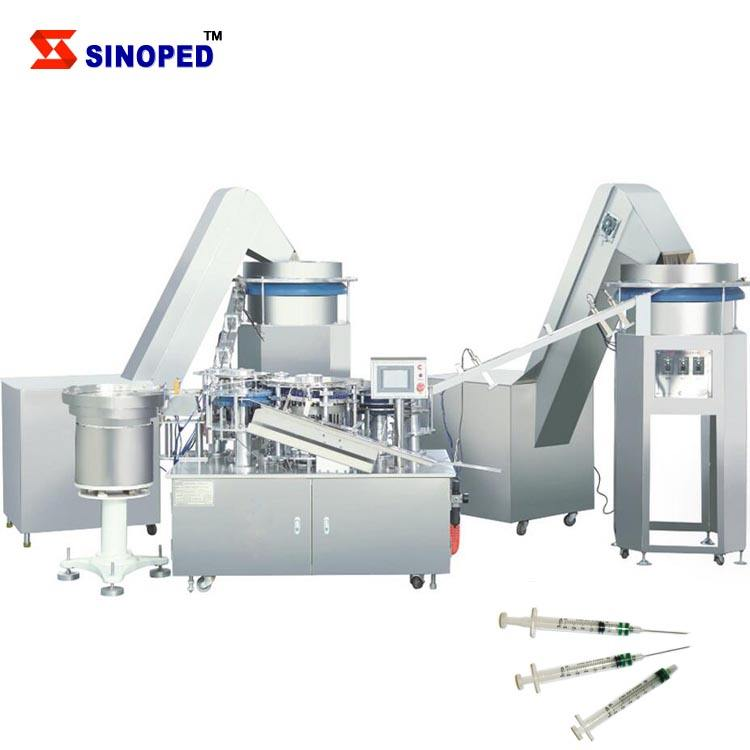 Disposable Syringe Making Machine For Total Production Line