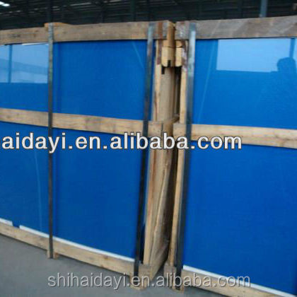 4mm/5mm/5.5mm/6mm dark blue float glass With CE CERTIFICATE