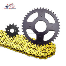 Good quality AX-1 motorcycle chain and sprocket kits