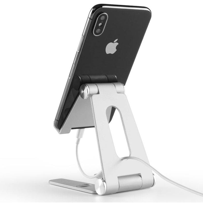 Cell Phone Stand Color : Yellow Jian E Flexible Long Arm Universal Mobile Phone Holder Lazy Bracket for iPhone 6 7 Plus Samsung Galaxy 360 Degree Rotated Desk Holder