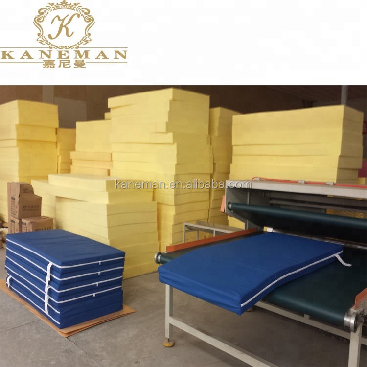 Factory OEM flexible thickness foam sheets furniture sofa bed foam