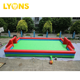 Inflatable football pitch inflatable sports games with air pump Inflatable soccer field