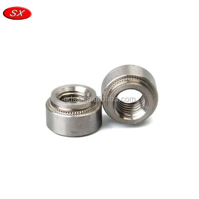 Self-clinching écrous m3 type 2 zinc plaqué carbone steelâ Pack de 10