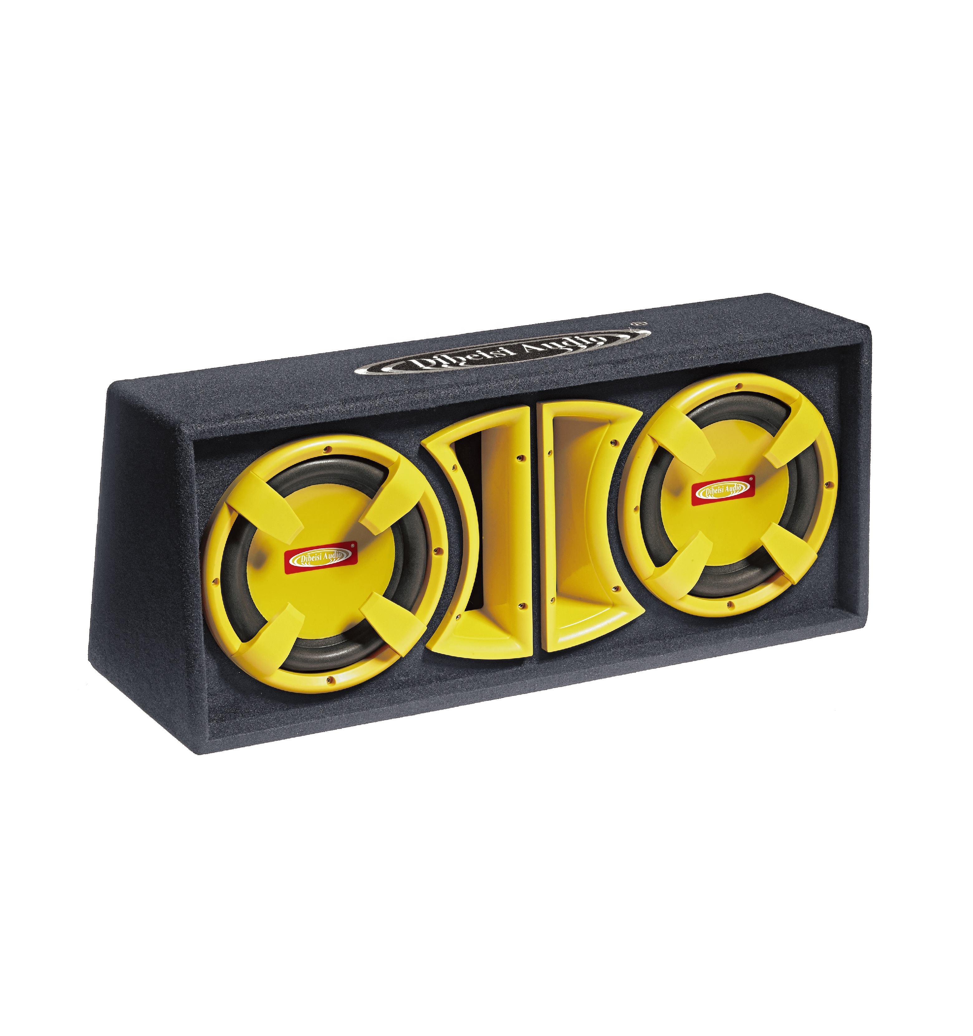 DIBEISI wholesale 8/10/12 inch dual car subwoofer box system CP8008