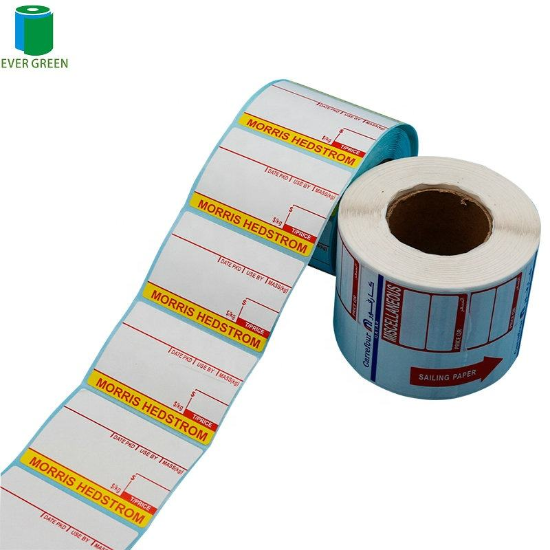 Electronic Plastic Bottle Roll Printed Paper Label