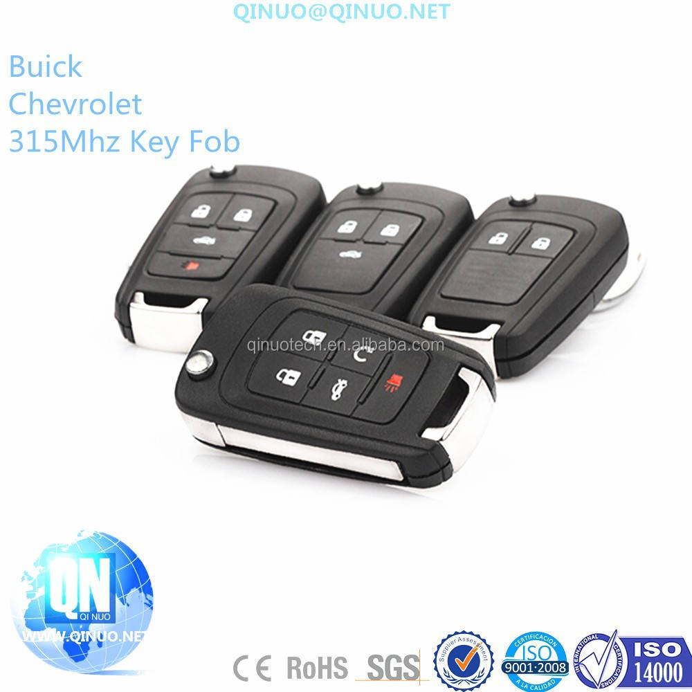 Chevrolet Remote Key High Quality Replacements
