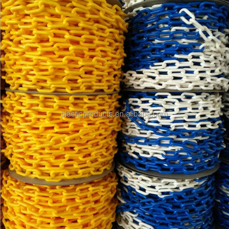 Colorful Plastic Chain, 2mm Toilet Plastic Chain, PE Plastic Chain