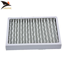 Customize Various Size MERV MPR Rating cardboard Pleated AC Furnace G4 Pre Air Filter