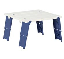 Outdoor lightweight portable plastic camping beach folding outdoor table