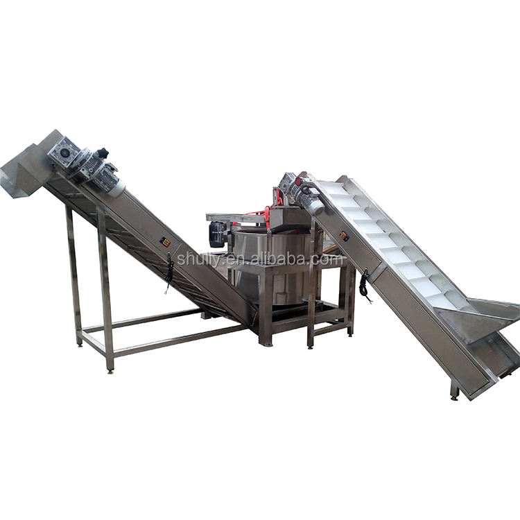 Stainless Steel Oil remove machine for fried food