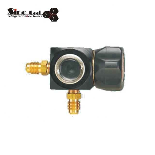 1-Way Manifold Without Gauge With Sight Glass