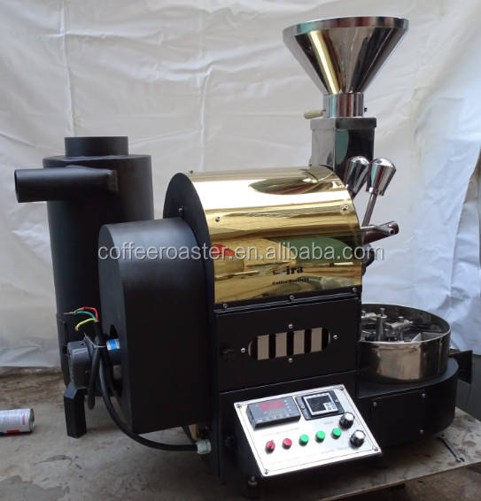 China Top Quality Coffee Roaster DY-1kg with CE, Data Logger USB coffee maker