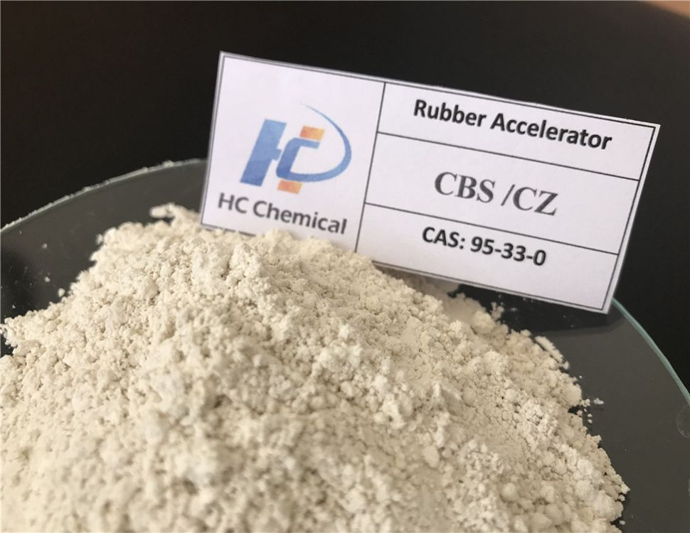 ISO factory Rubber Accelerator CZ/CBS Rubber Chemicals CAS:95-33-0 for Tire tube sulphur treatment