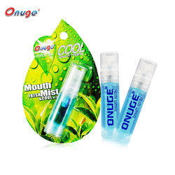 Create Your Own Brand Mint Perfume Mouth Spray Breath Freshener Spray in Teeth Whitening