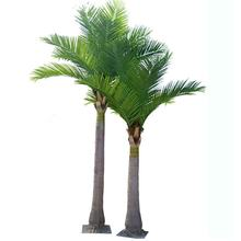 cheap price 420cm+320cm height artificial decorative coconut palm tree set for indoor decoration
