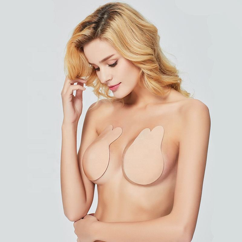 Woman Invisible Tape Boob Enhancer Cover Factory Wholesale Adhesive Sexy Breast Lifts Pasties
