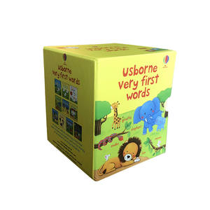 Usborne Molto Prima Parole Collection 10 Box Libri Set Inglese libri