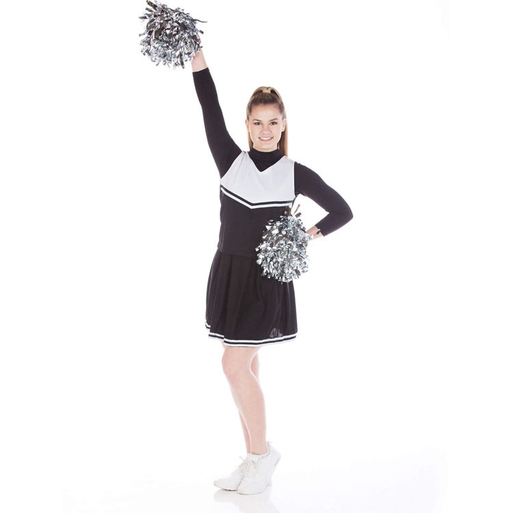 Hot Koop Unieke Stijl Plus Size <span class=keywords><strong>Cheerleading</strong></span> Uniformen Custom cheer rok en shirt dragen