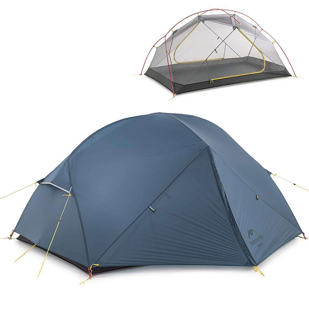 Naturehike Mongar <span class=keywords><strong>outdoor</strong></span> camping Ultralight 15D nylon 2-3 man Tent