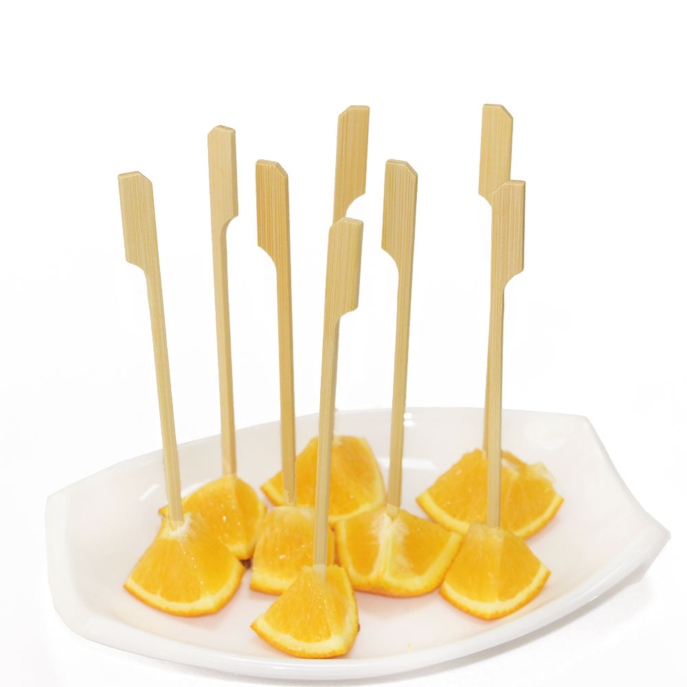 Chinese plastic packing Lovely fruit skewers fragrance diffuser wooden sticks