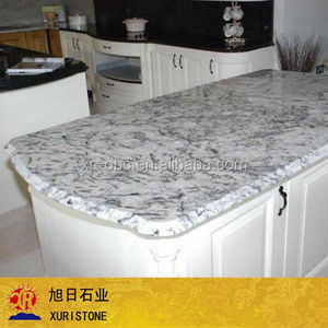 Blue Flower Kitchen Granite Countertop