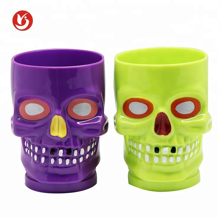 Hot Selling Producten Horrible Plastic Drinken Halloween Cups