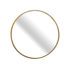 Magi  Hot selling modern wall mounted frame round mirror decoration mirror bathroom large metal wall mirror