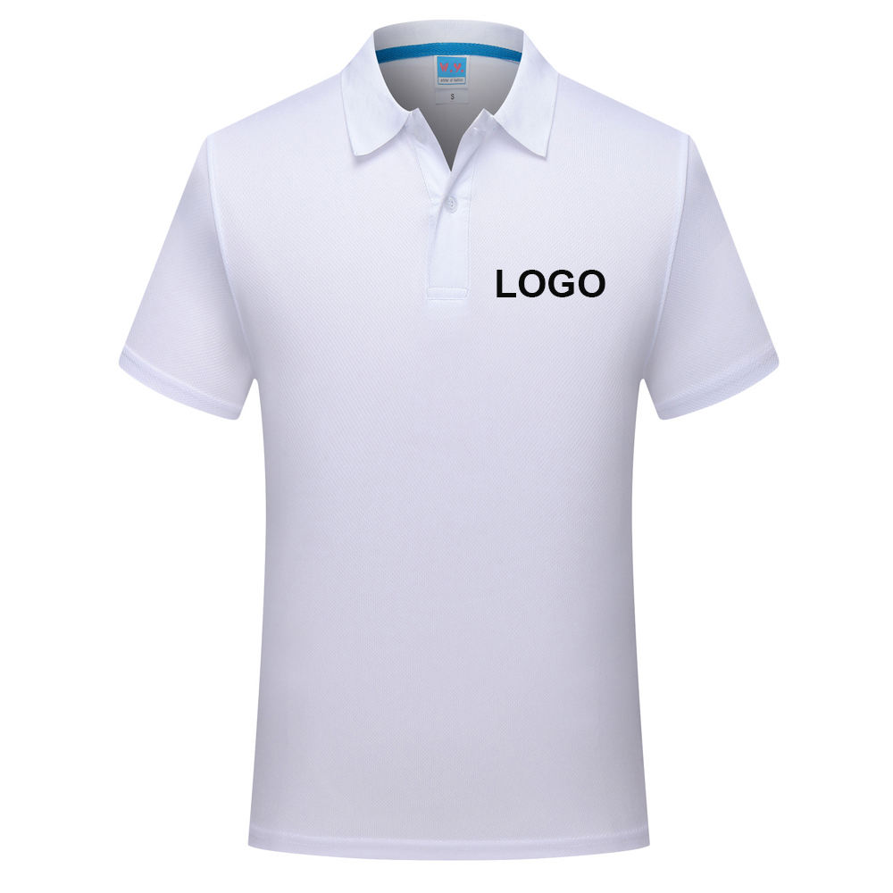 cheap wholesale unisex blank polo logo custom mesh pure color sublimation t-shirt for men women