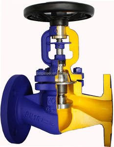 API / Din Bellows Seal Globe Valve
