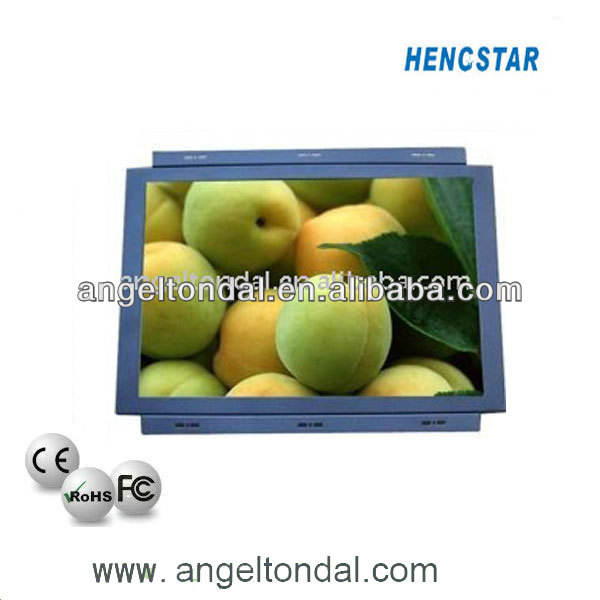 15 дюйма hdmi монитор, батарейным питанием видео монитор