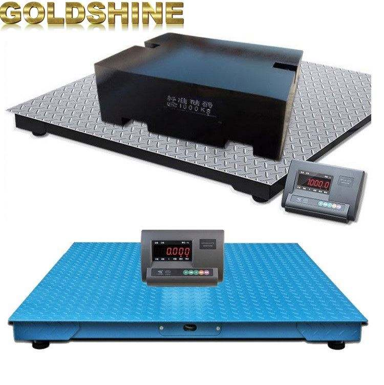 Heavy duty 3t electronic platform weighing used truck scales for sale digiweigh price 2000kg floor scale