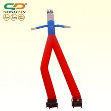 air dancing event inflatable products, single leg dancer for event