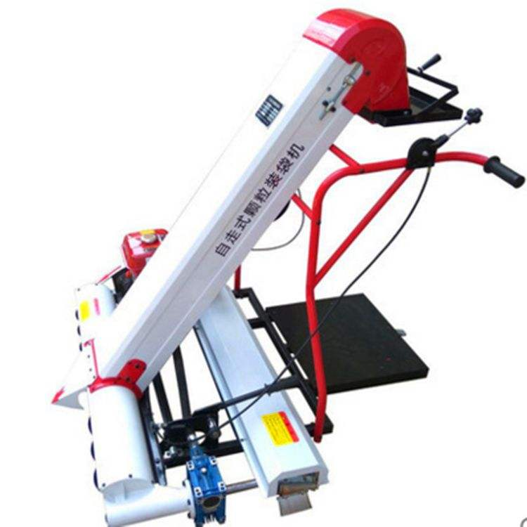 Home use Self-propelled wheat packer grain gather machine soya bean bagging machine
