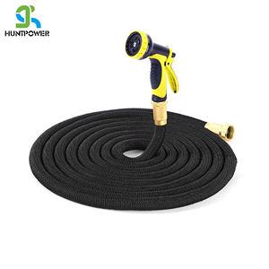 Flexible Expandable Garden Pocket Water Hose With 8 Function sprayer 75FT