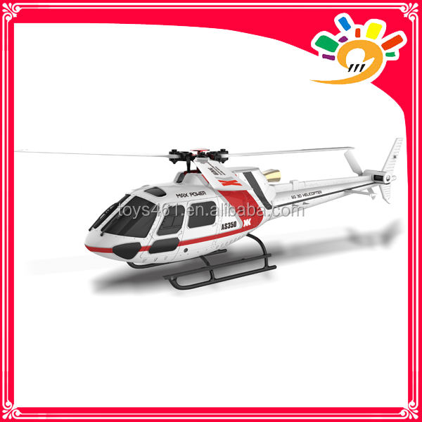 XK AS350 K123 6CH 3D6G Brushless helicóptero Do Motor Sistema de RC Helicóptero