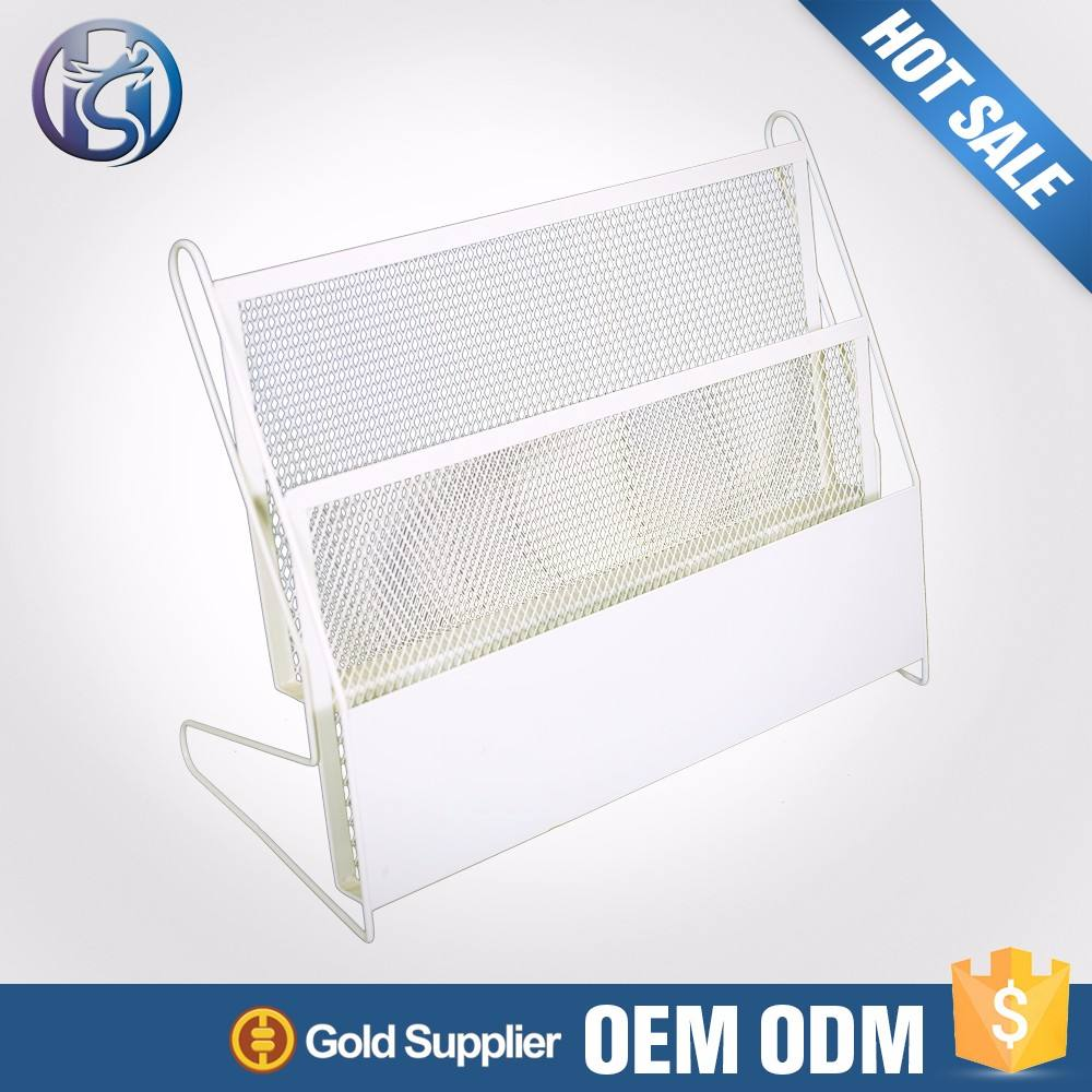 High Quality Hotel Iron Steel Newspapers Holder Display Rack newspaper stand