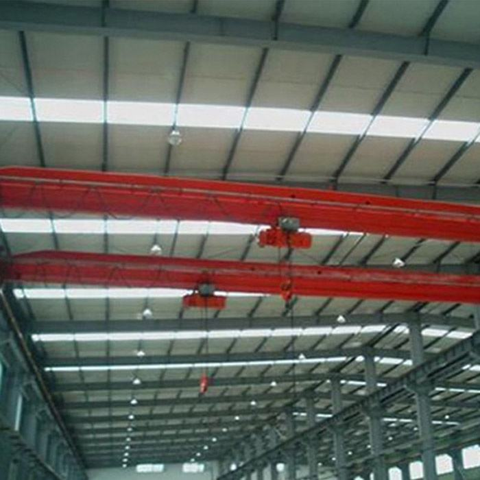 Europe standard 15 t 20 t electric hoist single beam bridge overhead traveling crane