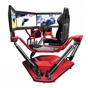 Jiaxin Car Driving Racing Simulator 9d VR Game Machine