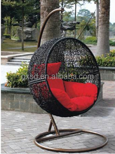 S&D Outdoor PE wicker Swing Chair/Great Hammocks Model /sturdy suspension