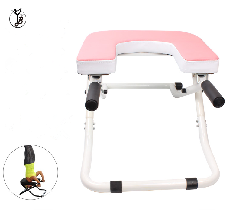 Balanced Body Headstand Bench Shoulder Stand Chair for Yoga Practice Head Stand