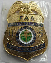 LINGTIAN Crafts Custom US Federal Air Marshal Badges