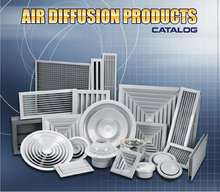 Air Diffuser, Grill, Register, Damper , linear Diffusers.